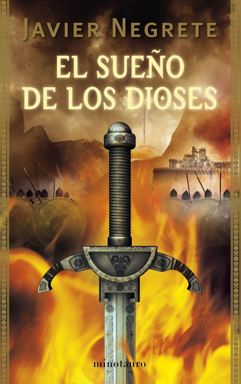 Portada del libro de Javier Negrete El sueño de los dioses de la saga tramorea
